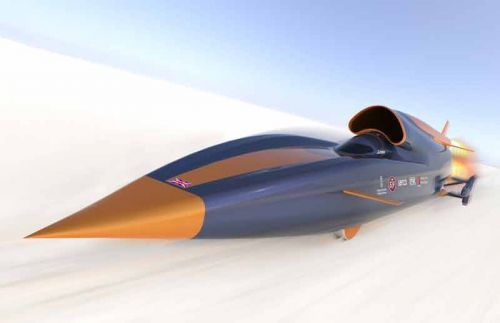 Bloodhound Project. Все ради рекорда