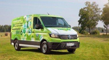 Volkswagen Crafter с бензиновым мотором Евро-6 тестируется в России