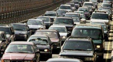 В Москве на МКАДе зафиксирована 14-километровая пробка