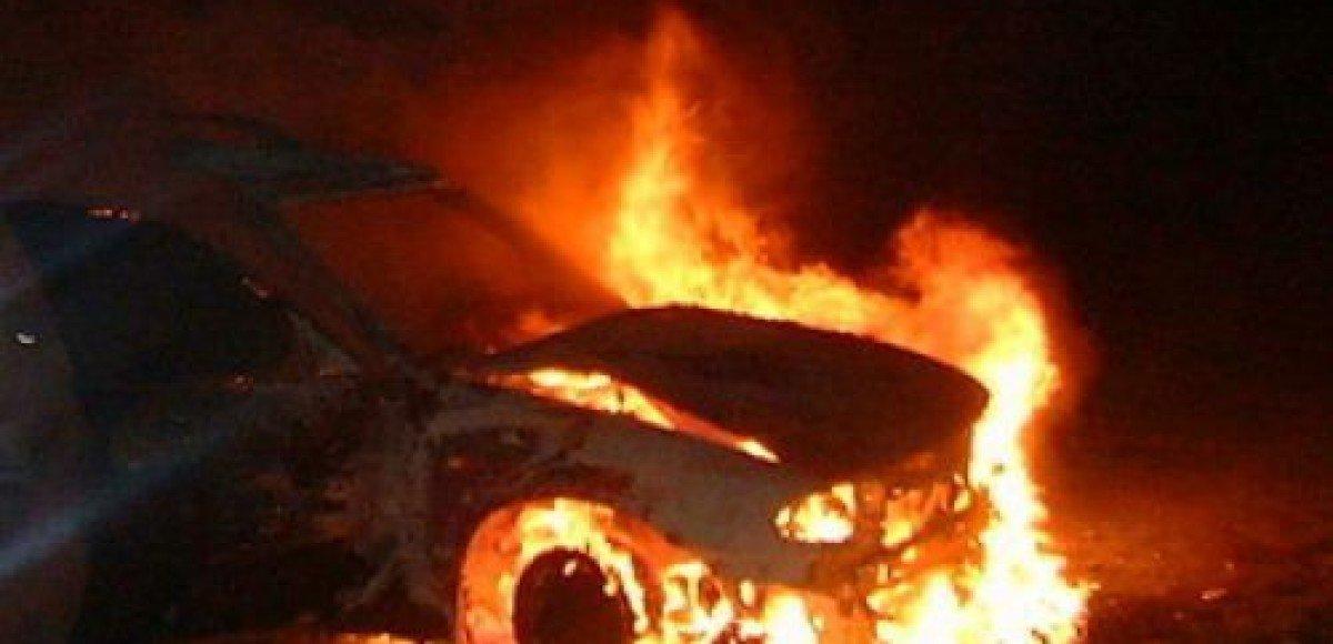 В Петербурге горят автомобили