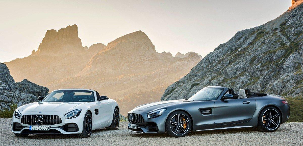 Mercedes-AMG GT скинул крышу