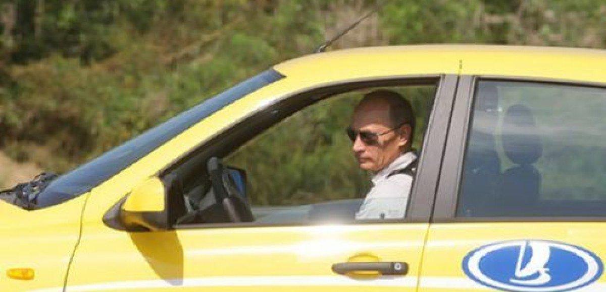 «Ладу Калину» Путина покажут на Московском автосалоне и отправят в музей