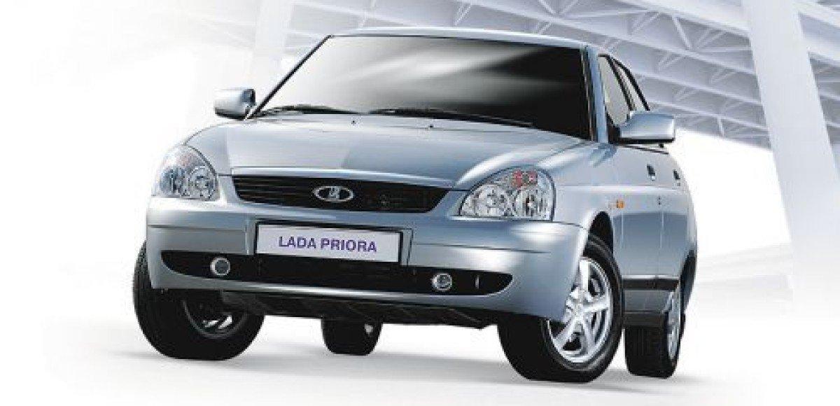 АВТОВАЗ подарил церкви автомобиль Lada Priora
