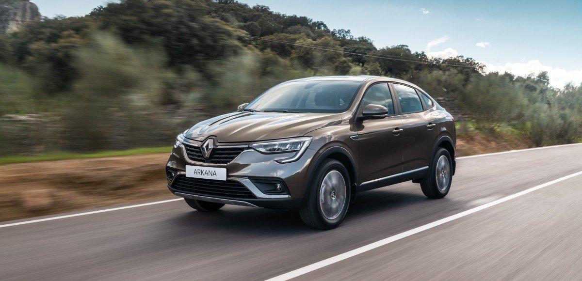 Названа цена самого дешевого Renault Arkana