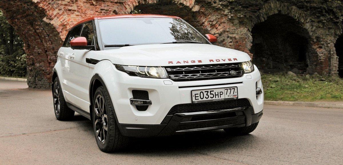 Range Rover Evoque London Edition. Вдохновленный Британией