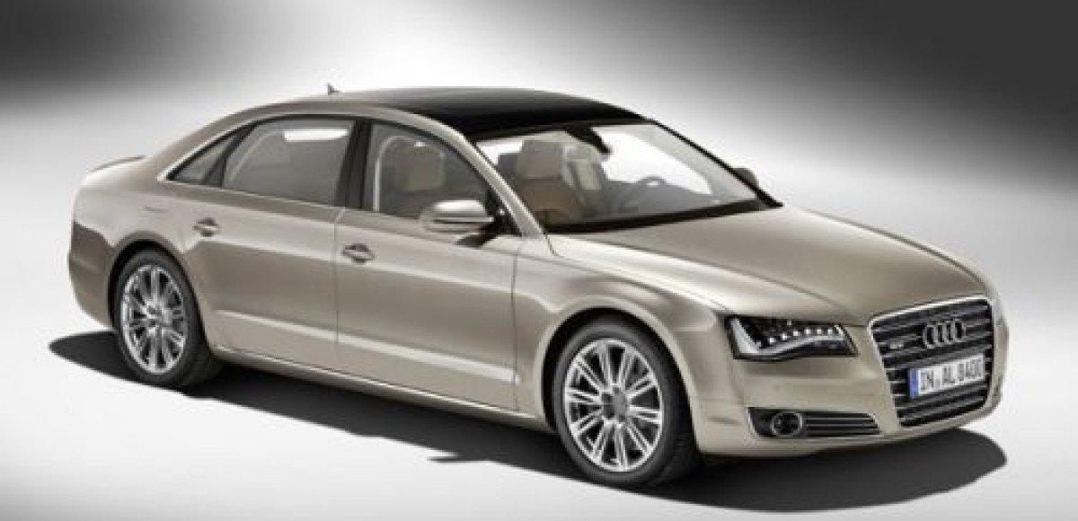 2011 Audi A8 L W12. Нерядовая роскошь