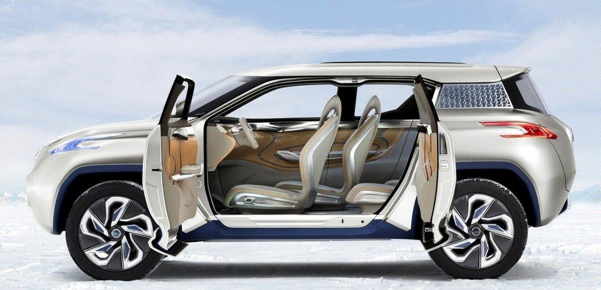 Nissan выпустит электрический SUV