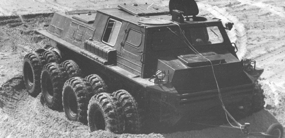 ГПИ-3901: уникальный вездеход-трансформер