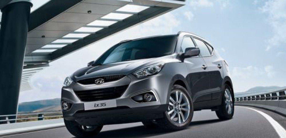 В России стартовали продажи кроссовера Hyundai ix35