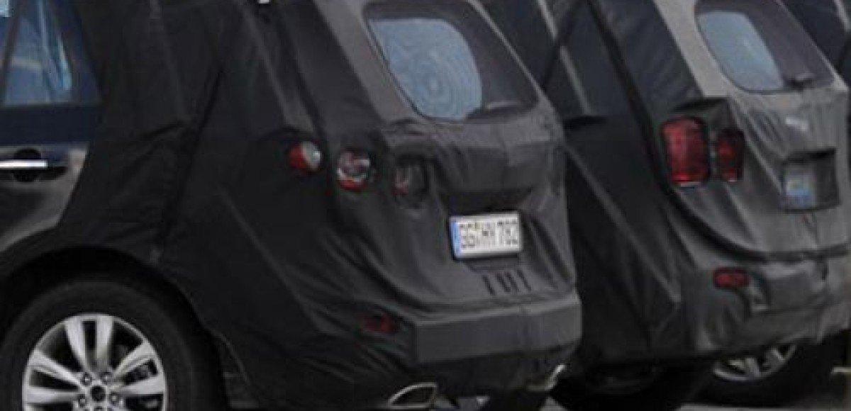2010 Hyundai Santa Fe. Шпионские фото