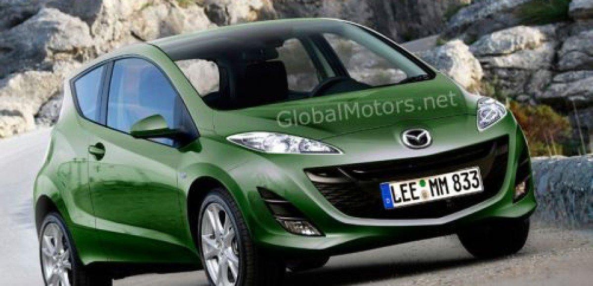 Mazda1 покажут осенью во Франкфурте