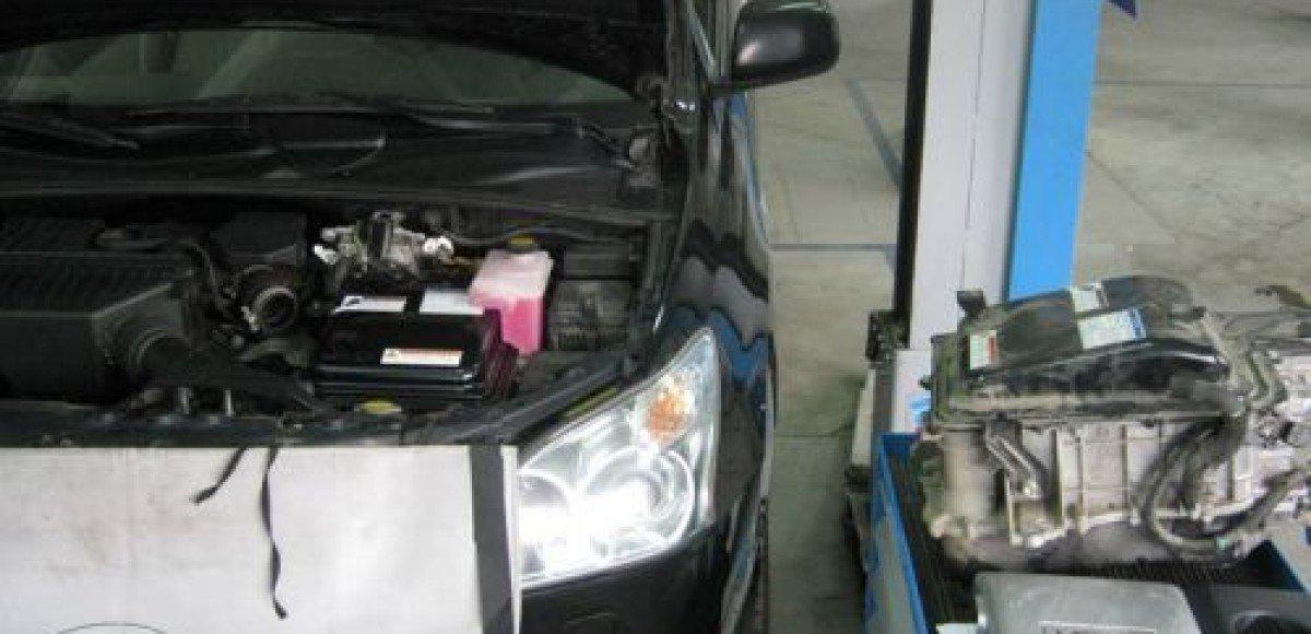 Кузовной ремонт автомобиля «Тойота»