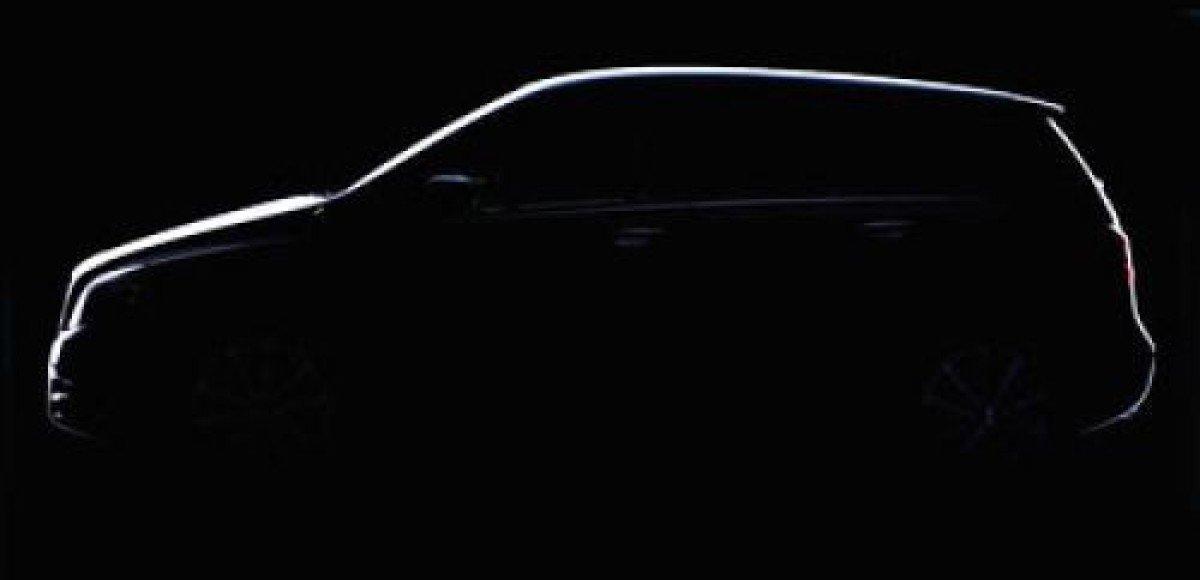 Первое официальное тизерное фото Mercedes-Benz B-class