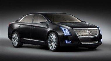 Детройтский автосалон 2010. Cadillac XTS Platinum concept