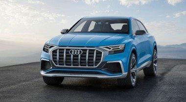 Audi Q8 появится в 2018 году