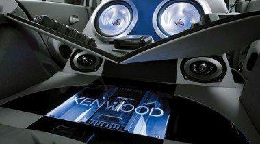 Демо-кар Nissan Micra Kenwood. Музыкальная миниатюра