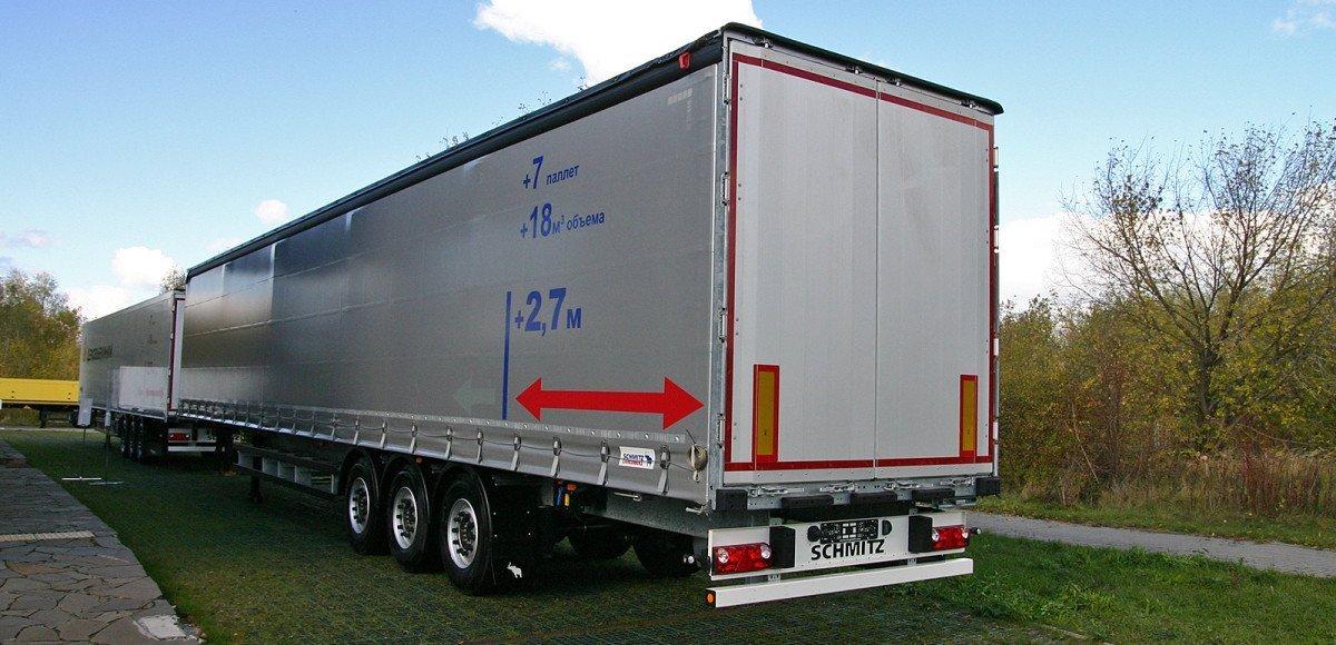 Удлиненные прицепы Schmitz Cargobull: сделаны для России, запрещены в Европе