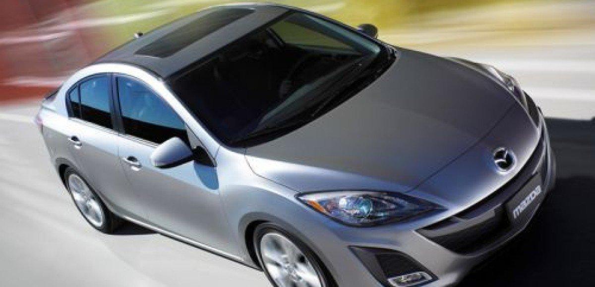 Новую Mazda3 покажут в Лос-Анджелесе