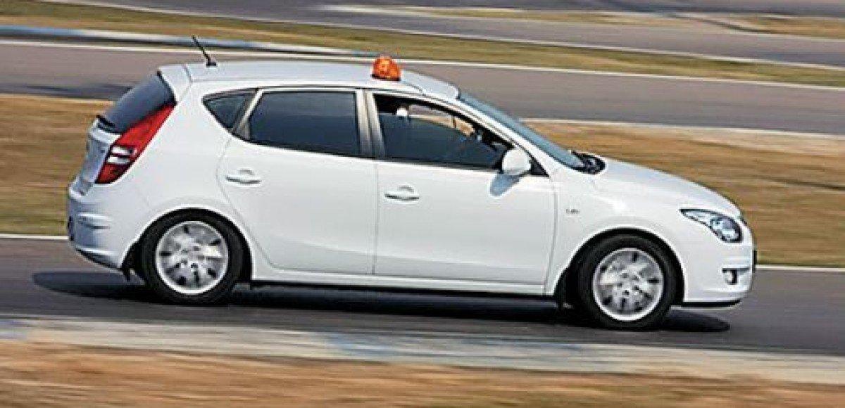 Hyundai i30. Автопробег «Москва – Дмитров»