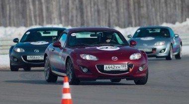 Mazda Sport Cup 2011. Веселые старты