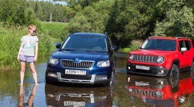 Skoda Yeti против Jeep Renegade. Борьба сердца с головой