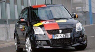 Suzuki выпустит 500 экземпляров Swift Sport N'Style Rally