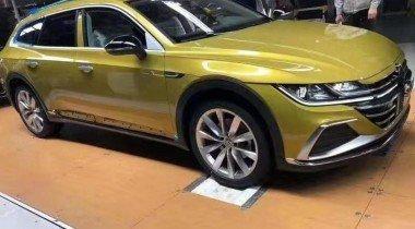 Volkswagen сделал из Arteon вседорожный универсал
