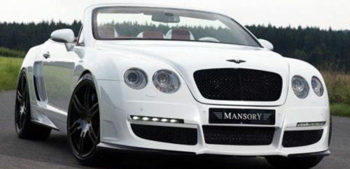 Le MANSory Bentley Continental GTC. Это очень быстро