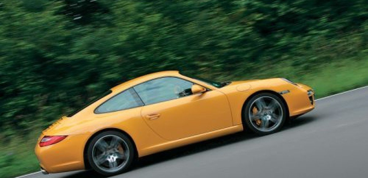 Porsche 911 Carrera. Аплодисменты!
