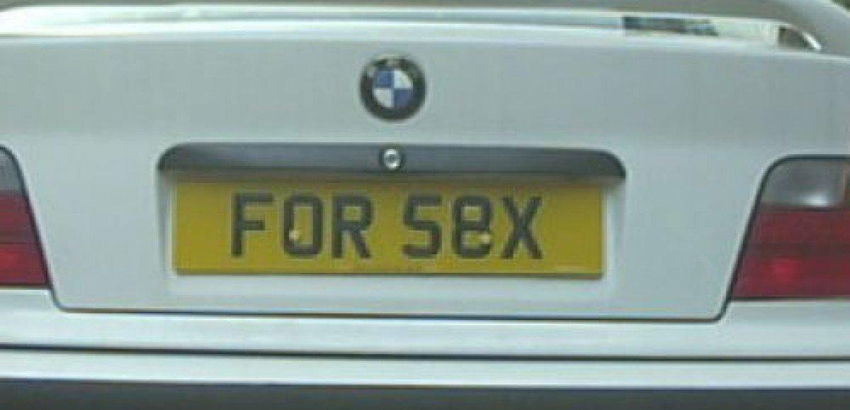 В Британии введены ограничения на использование провокационных номерных знаков