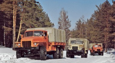Вездеходы с Урала: короли бездорожья