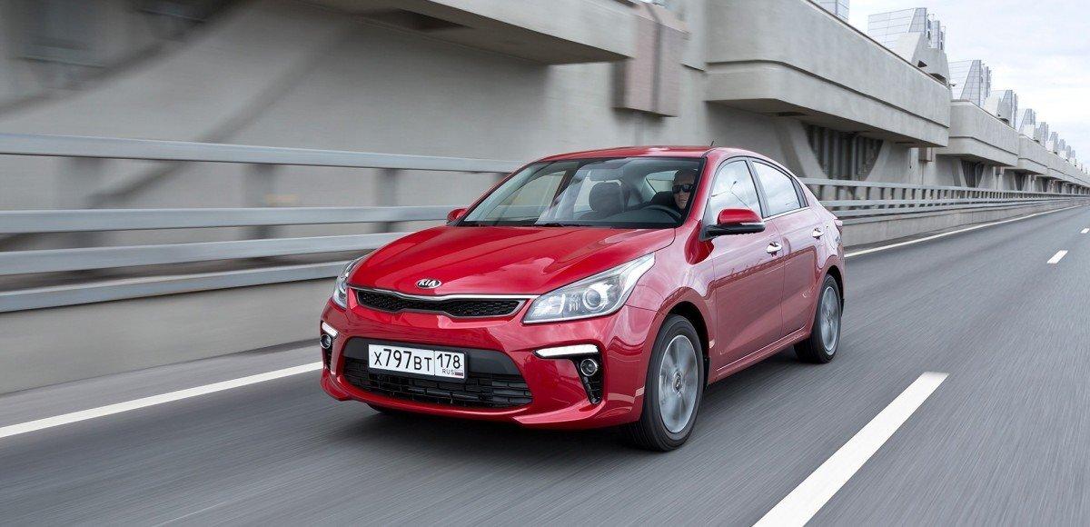 Самые продаваемые автомобили в России 2017 году
