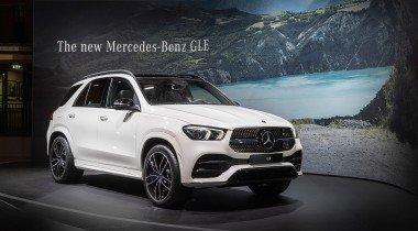 Mercedes-Benz GLE. Mercedes-Benz показал в Париже новый GLE