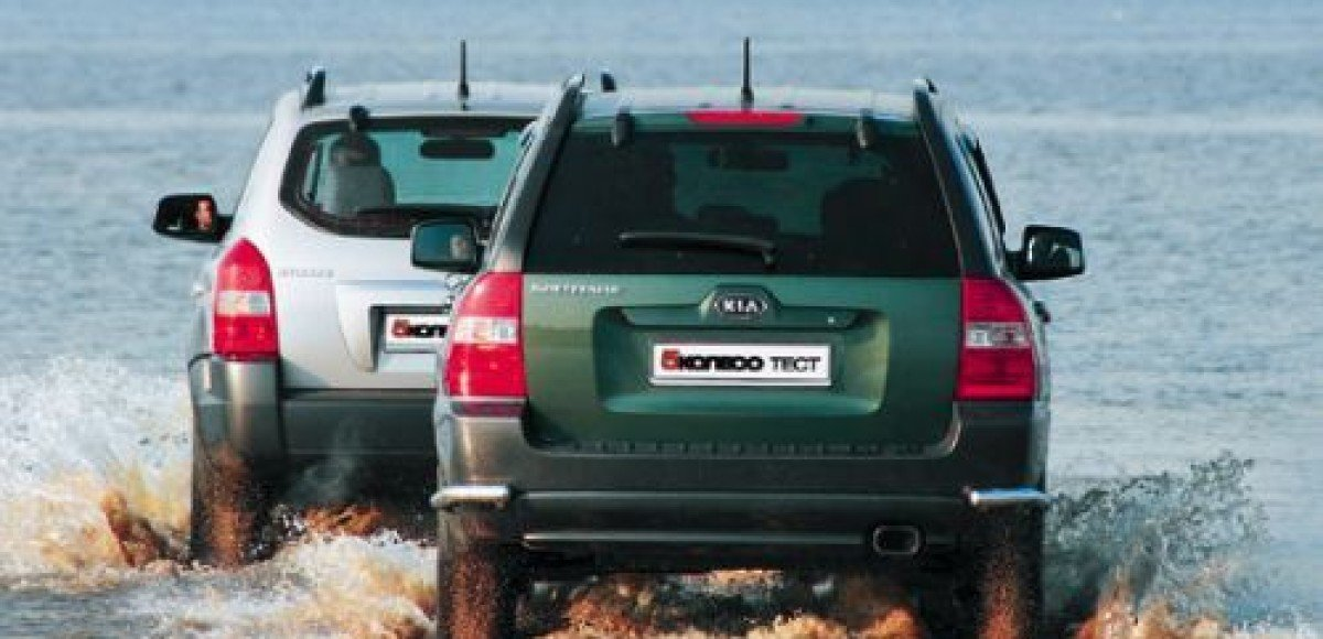 Hyundai Tucson и Kia Sportage. Частности практики