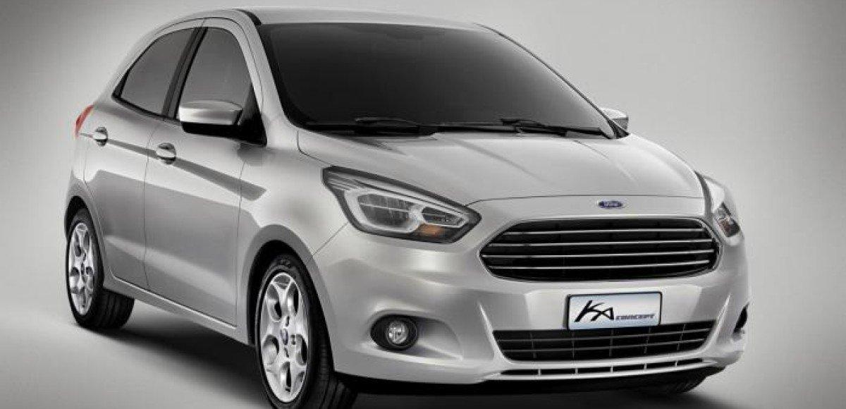 Новый Ford Ka появится в 2015 году