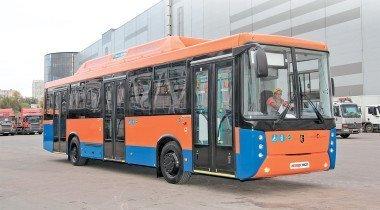 Штрихи урбанизации: автобусы НефАЗ