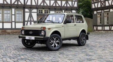 Названа цена «юбилейной» Lada 4×4