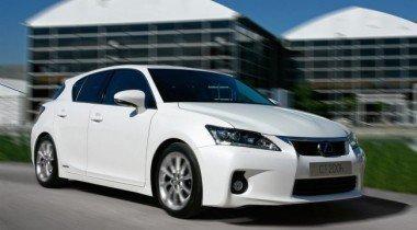 Lexus CT 200h получил максимальный рейтинг безопасности