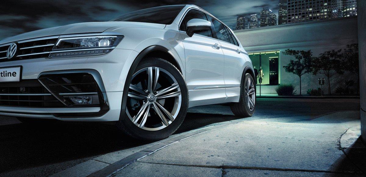 VW Tiguan получил новую топовую комплектацию