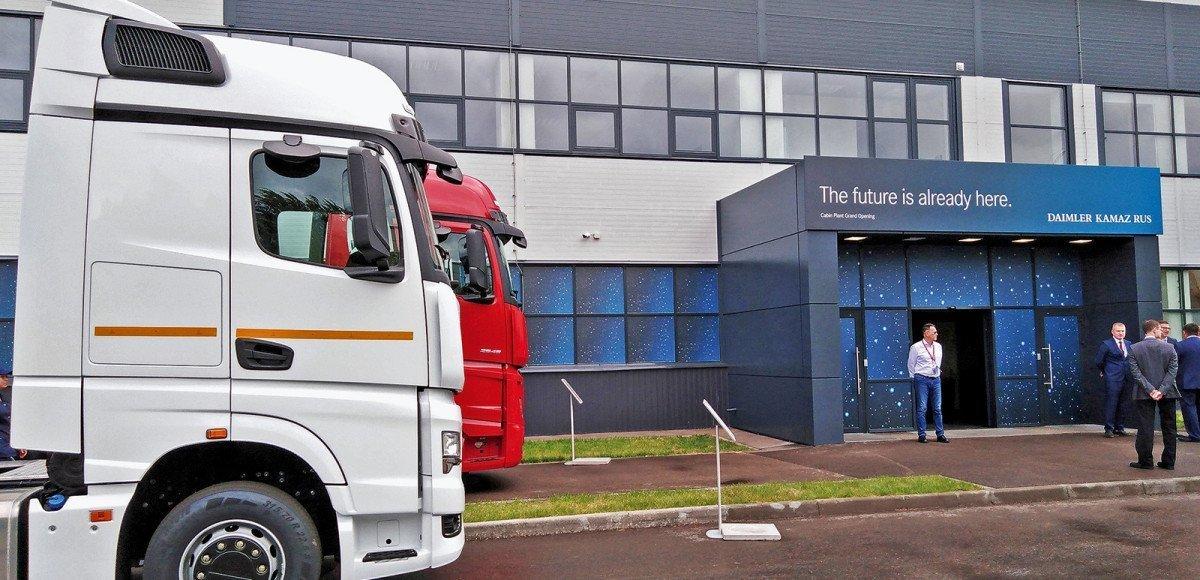 Как делают кабины для грузовиков КАМАЗ и Mercedes-Benz