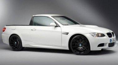BMW распространила официальные фотографии пикапа M3