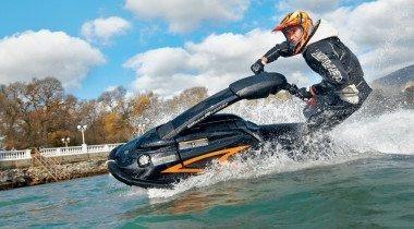 Yamaha SuperJet 700. Всем стоять!