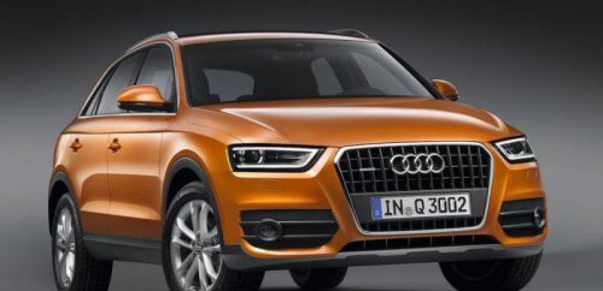 Audi Russia объявляет о начале приема заказов на Audi Q3