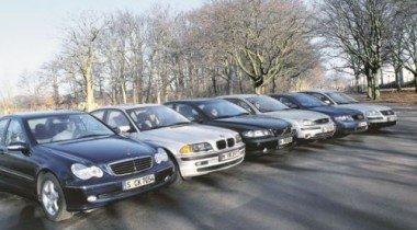 Audi A4 vs BMW 318i vs Ford Mondeo vs MB C 180 vs VW Passat vs Volvo S60. Ford Mondeo в компании одноклассников