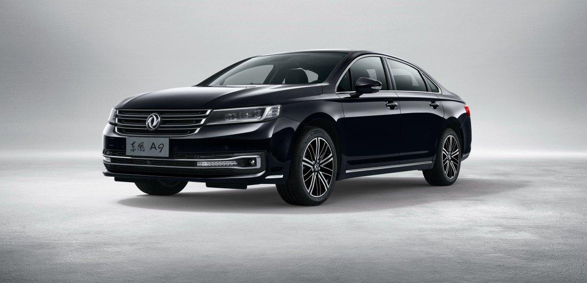 DongFeng A9: китайцы показали роскошный седан