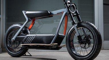 Harley-Davidson показала электроскутер