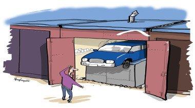 Сделал смотровую яму в гараже и по весне чуть не лишился машины — как такое случилось