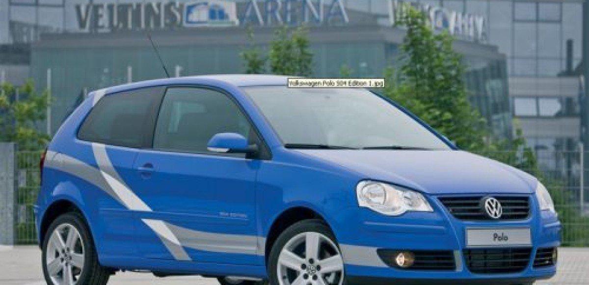 Volkswagen предлагает специальную футбольную серию Polo S04 Edition