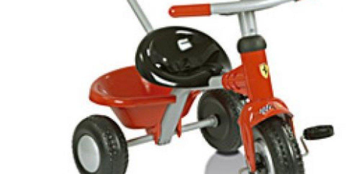 Ferrari завоевывает сердца 3-хлетних малышей