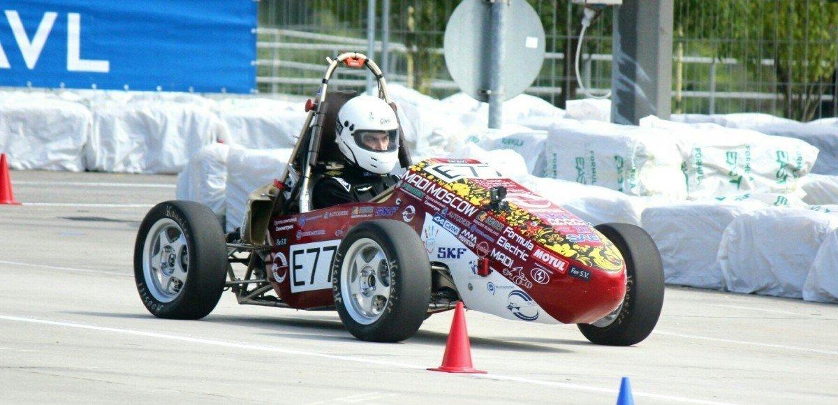 Российский электромобиль выиграл студенческую «Формулу»